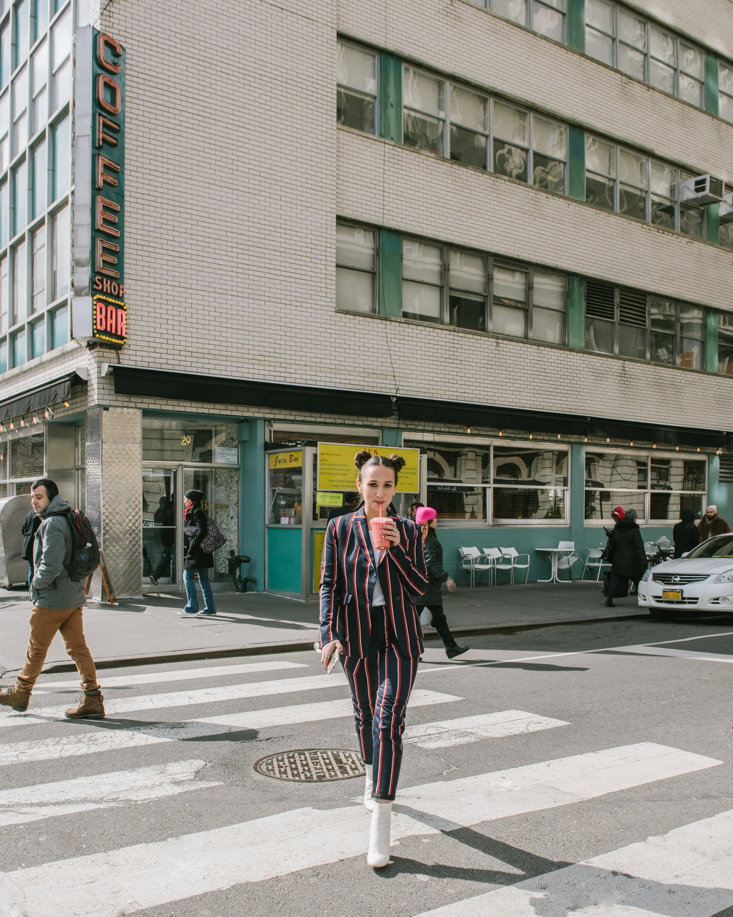 SOPHIE BICKLEY YIN 2MY YANG SISTER FASHION BLOGGERS NYC MODERN AMERICANA TREND FOR SHOPBOP POST