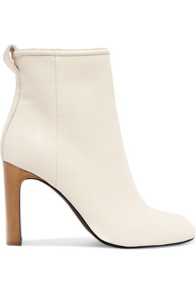 RAG & BONE 'ELLIS' WHITE BOOTS