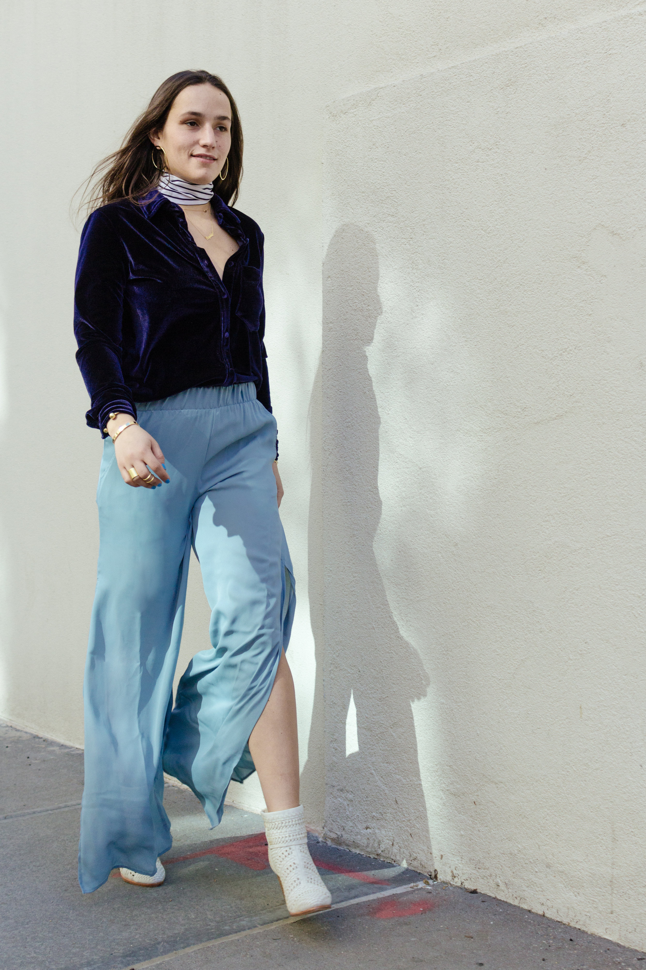 SOPHIE BICKLEY YIN 2MY YANG SISTER FASHION BLOG NYC SHADES OF BLUE POST
