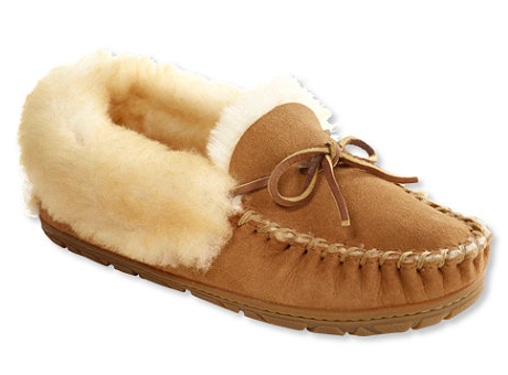 LL BEAN WICKED GOOD MOCCASIN SLIPPERS