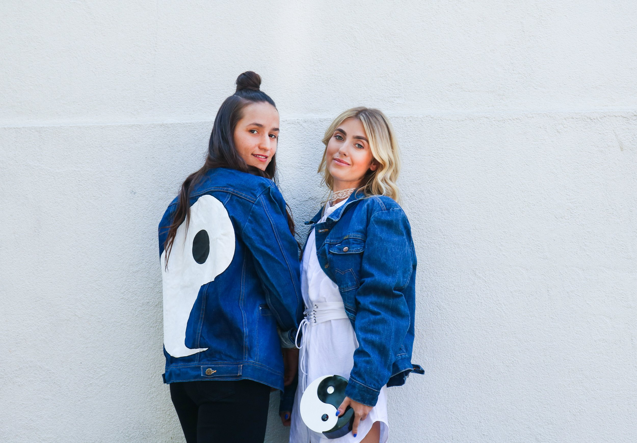 SOPHIE BICKLEY AND CHARLOTTE BICKLEY YIN 2MY YANG SISTER BLOGGERS ONE YEAR POST