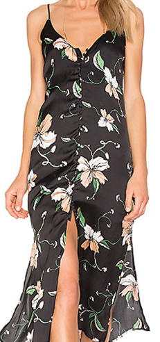 Bardot Hibiscus Slip Dress