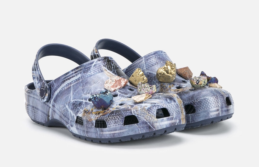 CHRISTOPHER KANE STONE EMBELLISHED CROCS