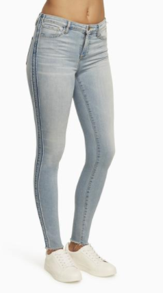 JOMAD 'BROOME' HIGH RISE SKINNY JEANS