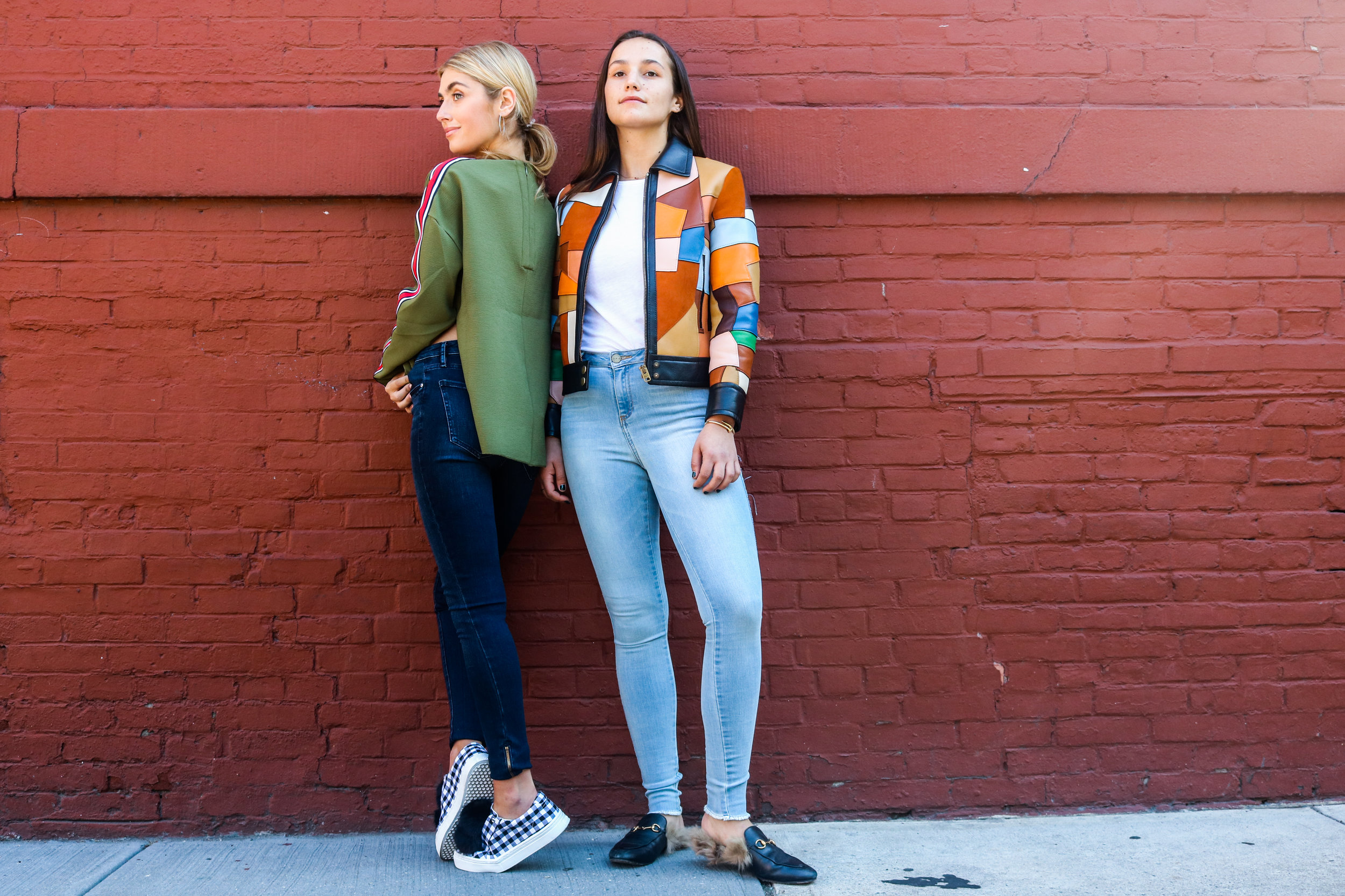 SOPHIE AND CHARLOTTE BICKLEY YIN 2MY YANG SISTER FASHION BLOGGERS NYC JOMAD POST