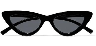 Le Specs + Adam Selman 'The Last Lolita' Cat-Eye Sunglasses