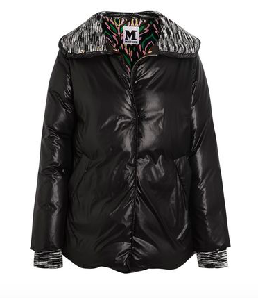 MISSONI WOOL-TRIMMED QUILTED SHELL JACKET