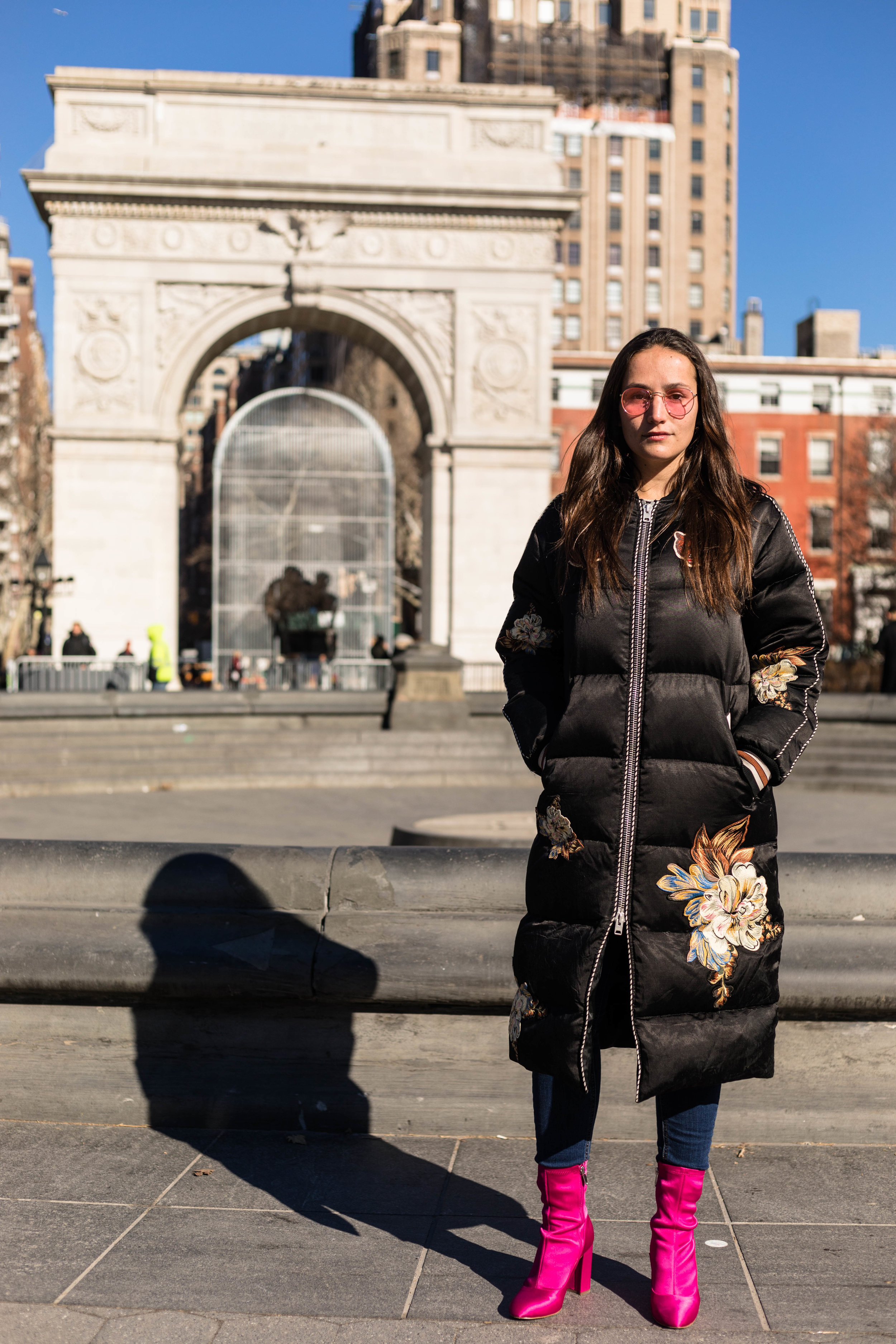 YIN 2MY YANG SOPHIE BICKLEY BLOGGER SISTERS NYC PUFFER JACKET POST JANUARY 2018