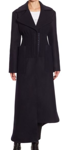 EACH X OTHER WOOL LONG COAT