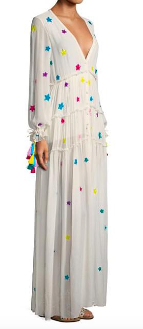ROCOCO SAND STAR BREADED LONG DRESS