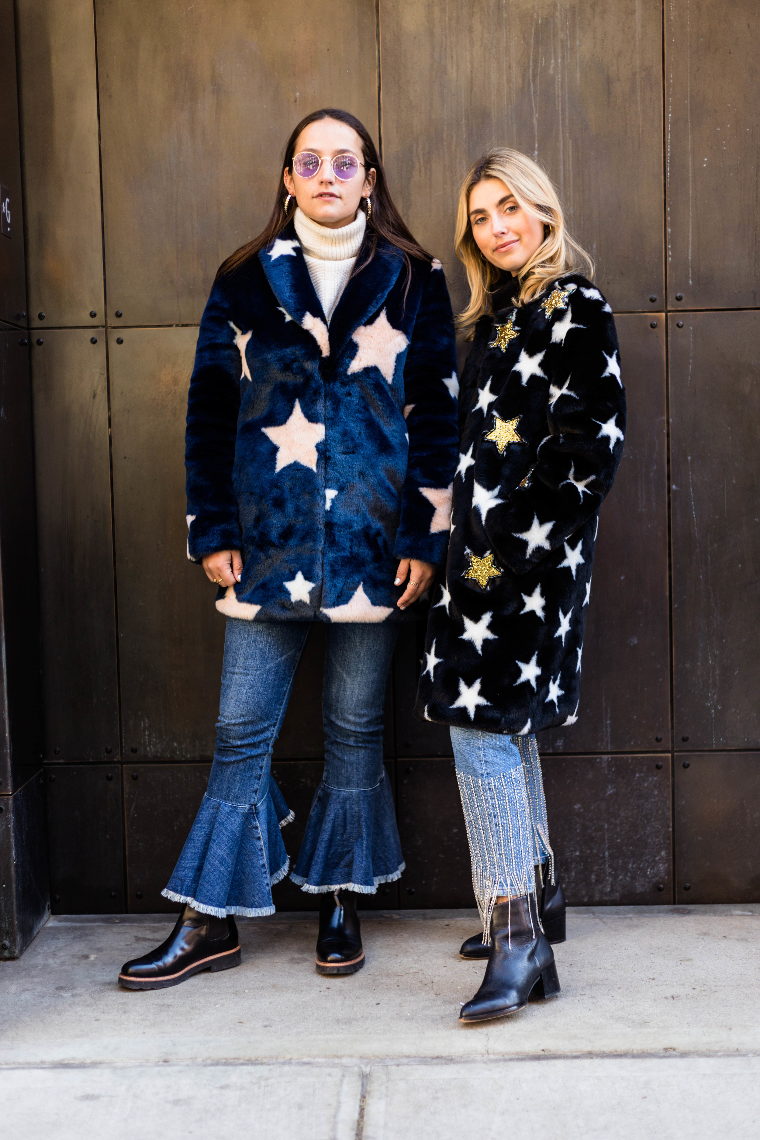 SOPHIE AND CHARLOTTE BICKLEY YIN 2MY YANG SISTER FASHION BLOGGERS NYC SEEING STARS