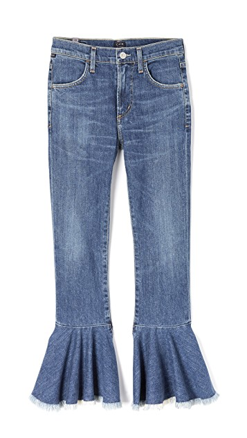CITIZENS OF HUMANITY FLOUNCE FLARE JEANS
