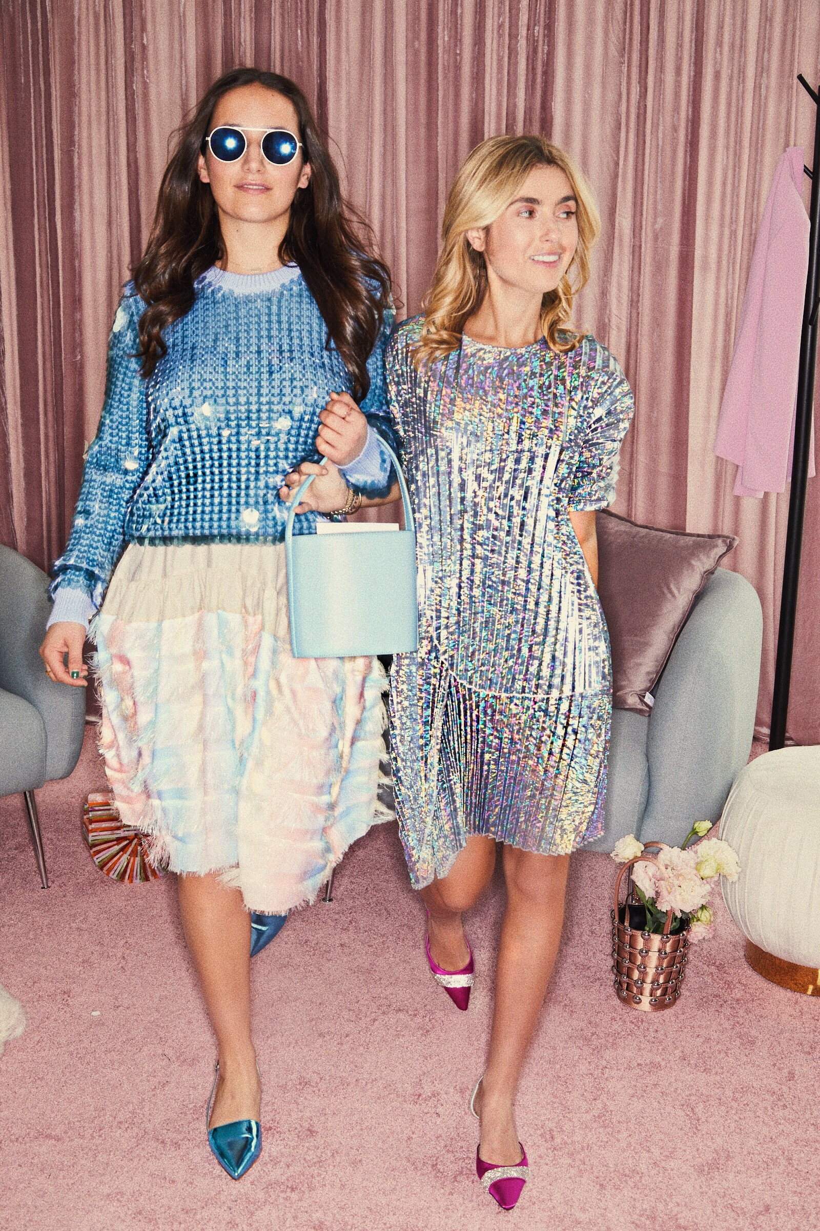 SOPHIE AND CHARLOTTE BICKLEY YIN 2MY YANG SHOPBOP EVENT NYC SISTER FASHION BLOGGERS