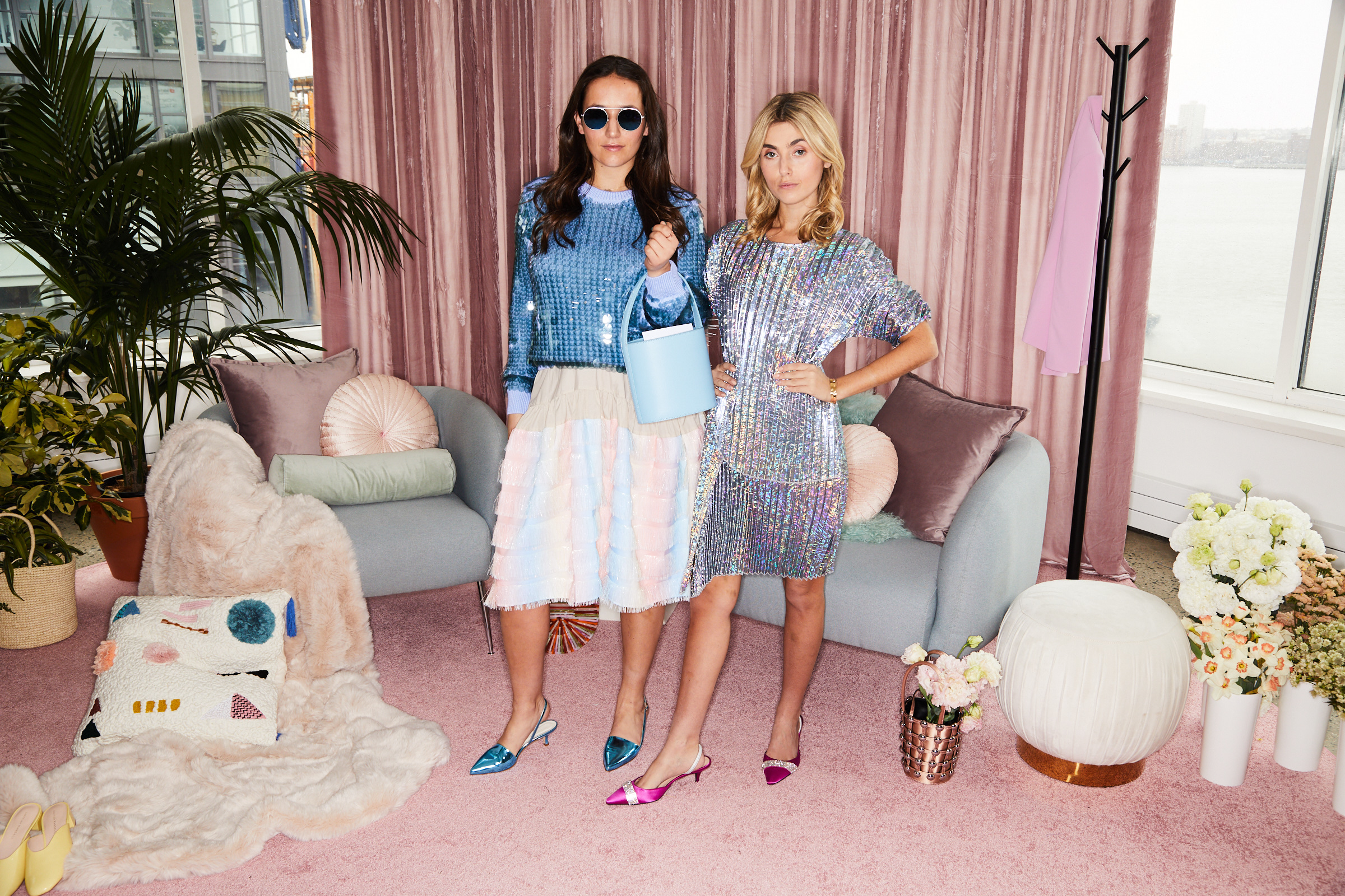 SOPHIE AND CHARLOTTE BICKLEY YIN 2MY YANG SHOPBOP STYLEHIGH EVENT NYC SISTER FASHION BLOGGERS 1