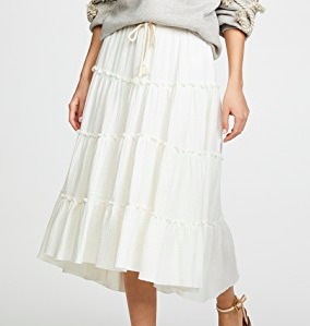 See by Chloe Embellished Skirt