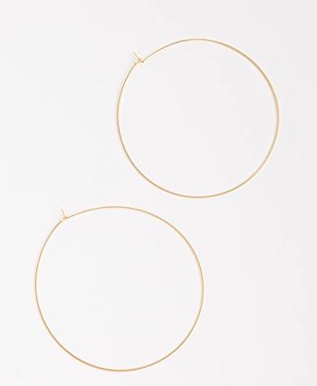 Luv Aj XL Capri Hoop Earrings