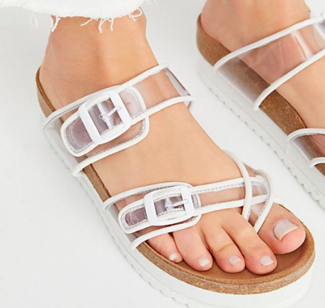 Jeffrey Campbell Plastic Platform Sandals