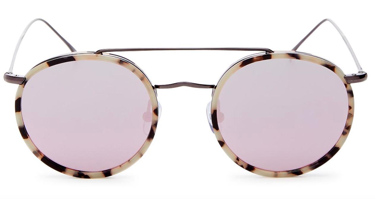 Illesteva Round Bar Sunglasses