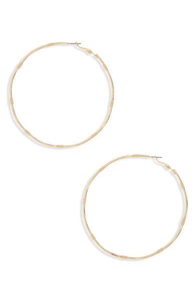 BP. Oversized Hoop Earrings