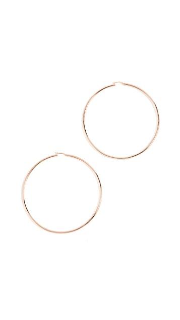 Bronzallure Extra Large Hoop Earrings