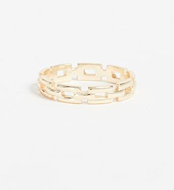Shashi Chain Band Ring