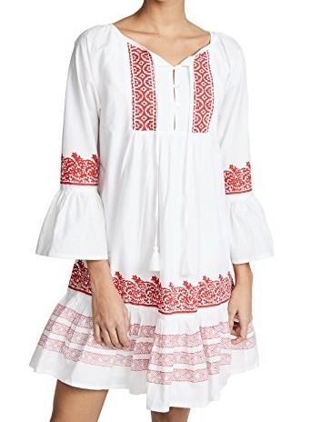 Roller Rabbit Mona Border 'Maricruz' Dress