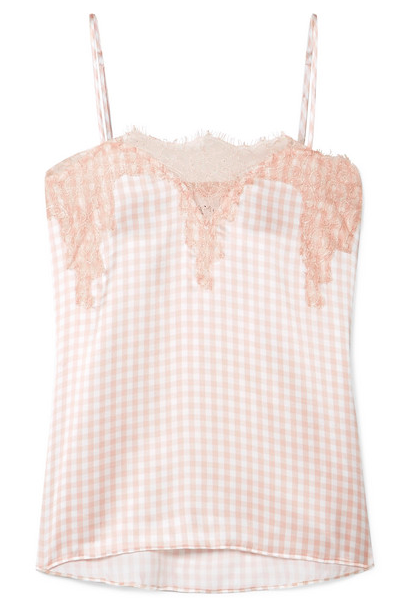 CAMI NYC Gingham Camisole