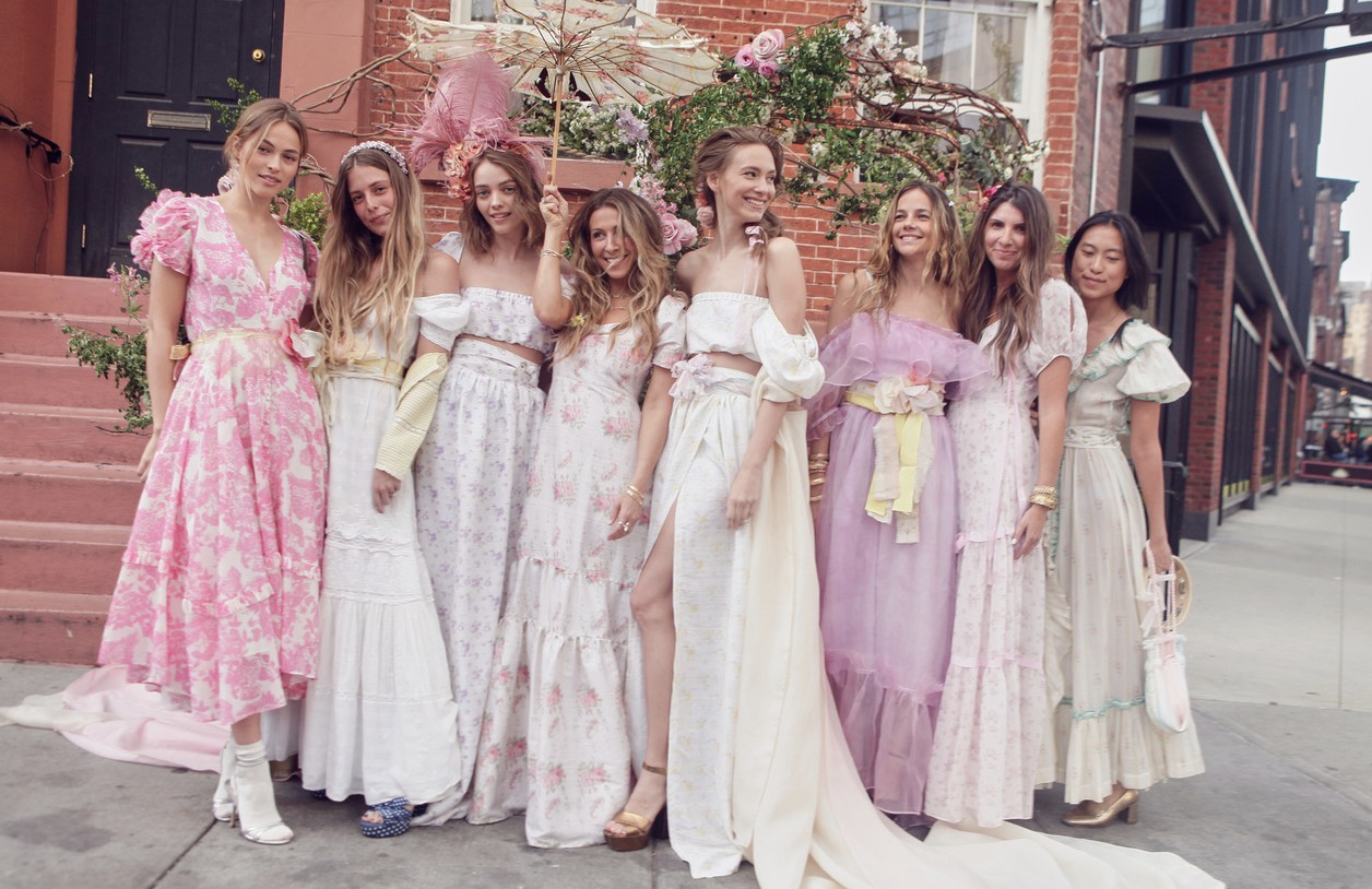 LoveShackFancy Fêtes Its New Bleecker Street Store With the Dreamiest Dinner -