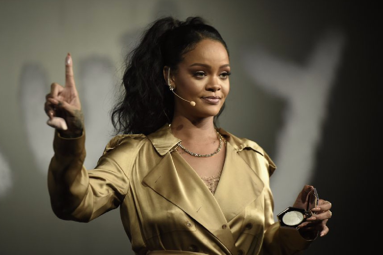 Why Rihanna decided to call her fashion brand Fenty -