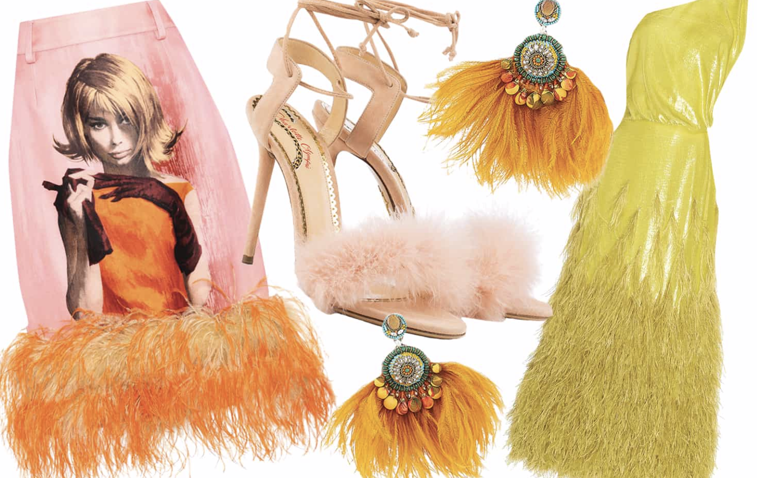 9 Fabulous Feathered Fashions Flying off the Shelves -