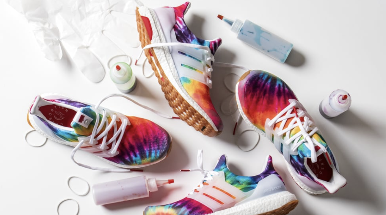 Adidas's New Tie-Dye Ultraboost Sneakers Are Straight Out of Our Grooviest Dreams -