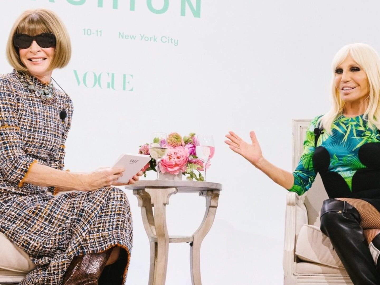 Go Behind the Scenes at the 2019 Forces of Fashion Conference -