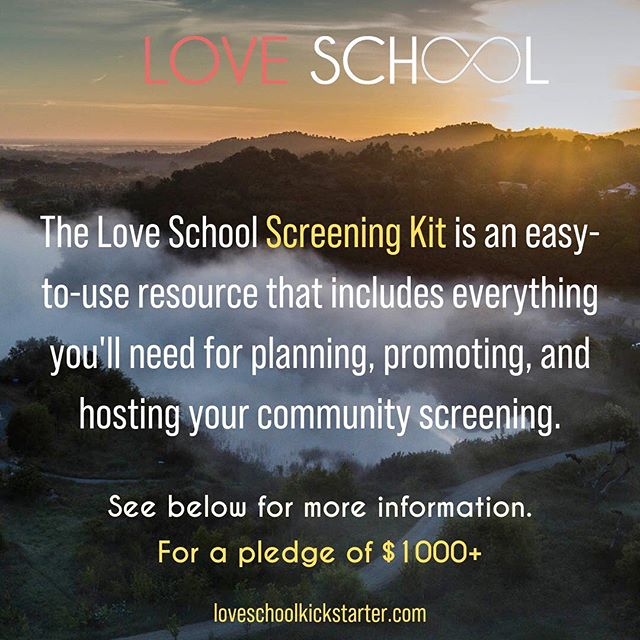 We have a special opportunity for you to screen the #loveschoolfilm in your community! ⁣⁣⁣ ⁣⁣⁣ And that is with the Community Screening Kit we are developing which includes not just a license and film, but a planning and discussion guide, digital files of postcards and posters to advertise your event, and a virtual introduction and Q&A with producers! ⁣⁣⁣ ⁣⁣⁣ Don't miss this chance to get your paws on a handbook for making this show an experience for you and your community! ⁣⁣ .⁣⁣ .⁣⁣ .⁣⁣ .⁣⁣ .⁣⁣ #eros #healingoflove #loveschoolfilm  #community #filmisart #filmscreenings #tamerahealingbiotope #fundthisfilm #kickstarter #kickstarterperks