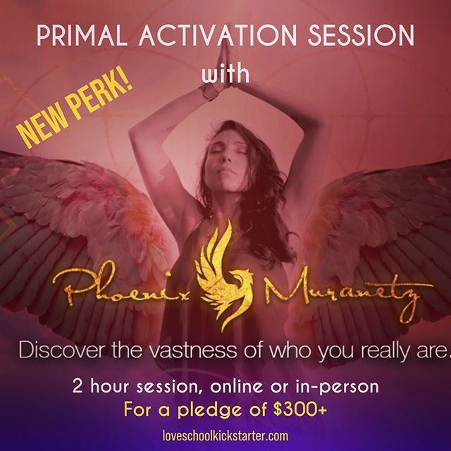 "Check out this new perk from our friend Phoenix Muranetz... she is offering a PRIMAL ACTIVATION SESSION for pledges of $300+! ⁣⁣ ⁣⁣ Here are some words from her about this offering: ⁣⁣ ⁣⁣ ""Our sexuality and primal passion is often suppressed, contained, abused. Beneath our controlled emotions is a primal animal ready to liberate itself.""⁣⁣ ⁣⁣ Experience a session with Tantrika PHOENIX MURANETZ, as she guides you in accessing your primal animal desires through Tantric practices, breathwork, journaling, guided visualization, and an expressive dance journey. 2 hour session, ONLINE or IN-PERSON in the Victoria, BC area only.⁣⁣ .⁣⁣ .⁣⁣ .⁣⁣ .⁣⁣ .⁣⁣ .⁣⁣ .⁣⁣ ⁣⁣ #eros #healingoflove #loveschoolfilm #tantrika #primal #bodywork #personalgrowth #sexuality #tamerahealingbiotope #fundthisfilm #kickstarter"