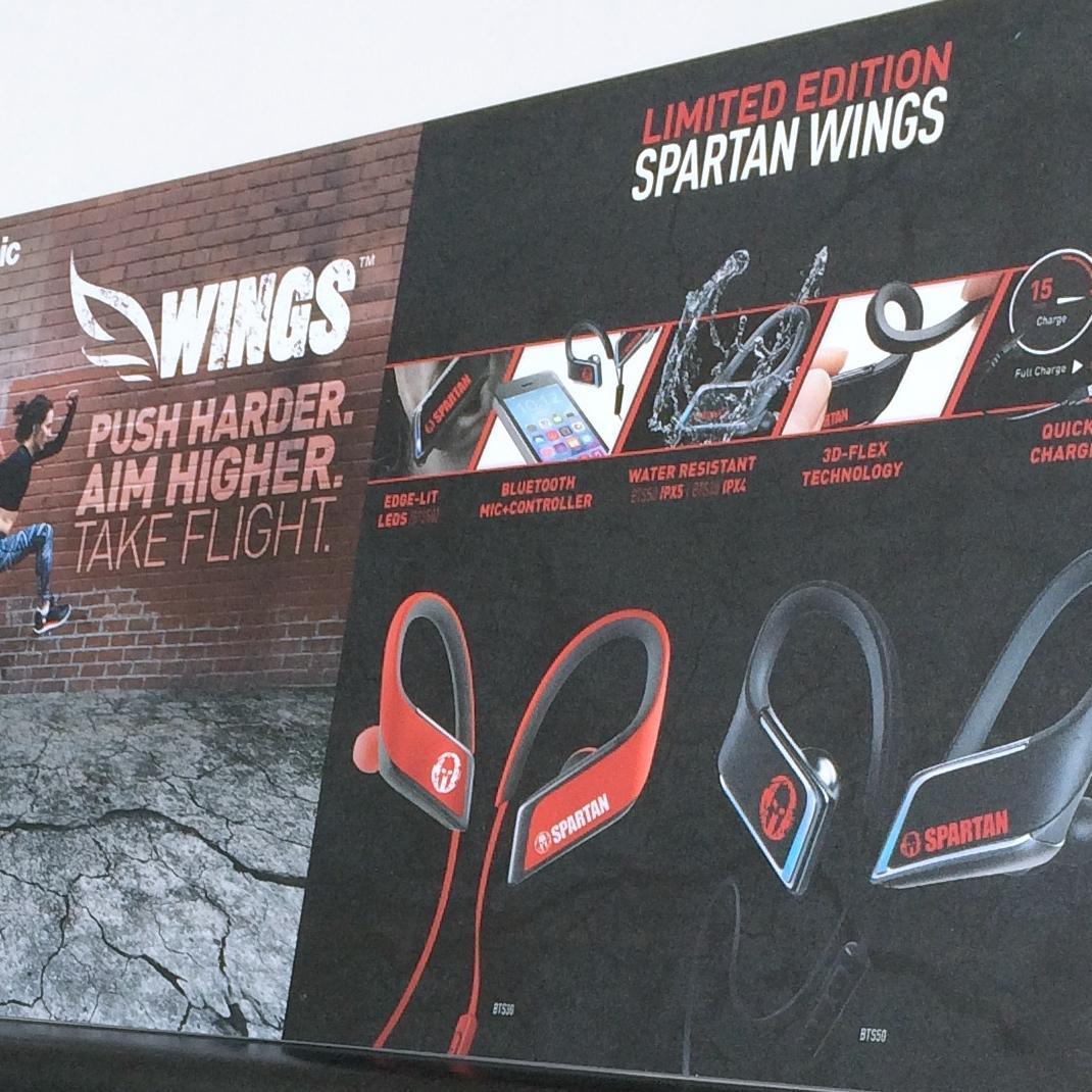 Spartan Wings Display