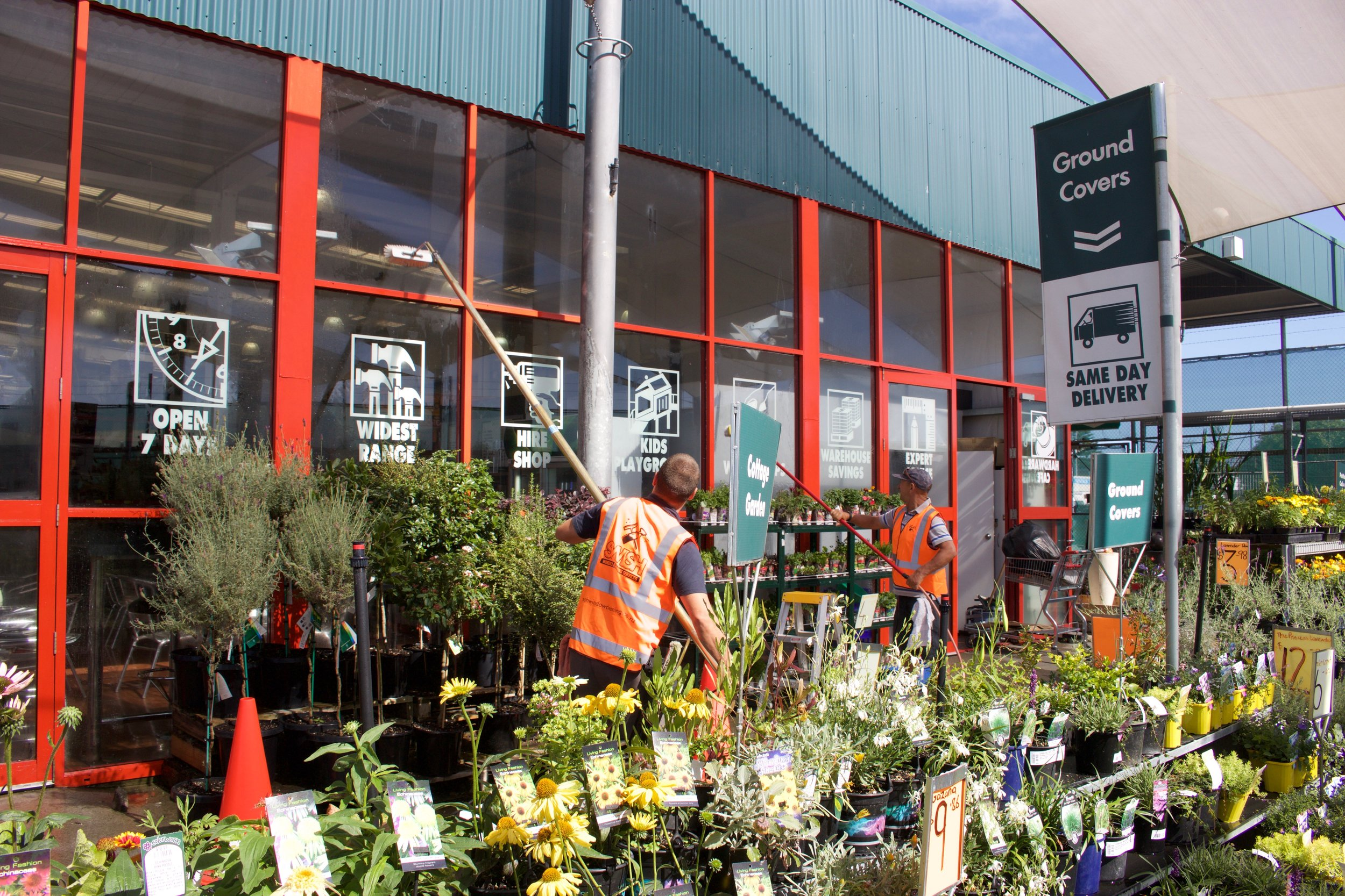 Commercial Window Cleaning Bunnings Mt Maunganui