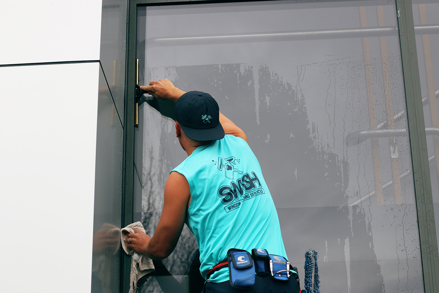 - Our prices are competitive, we are always on time and are flexible if needed (working weekends or after hours). Most importantly we always take steps to mitigate the risks involved with Commercial Window Cleaning and take steps to ensure both the public, your employees and ourselves are safe.