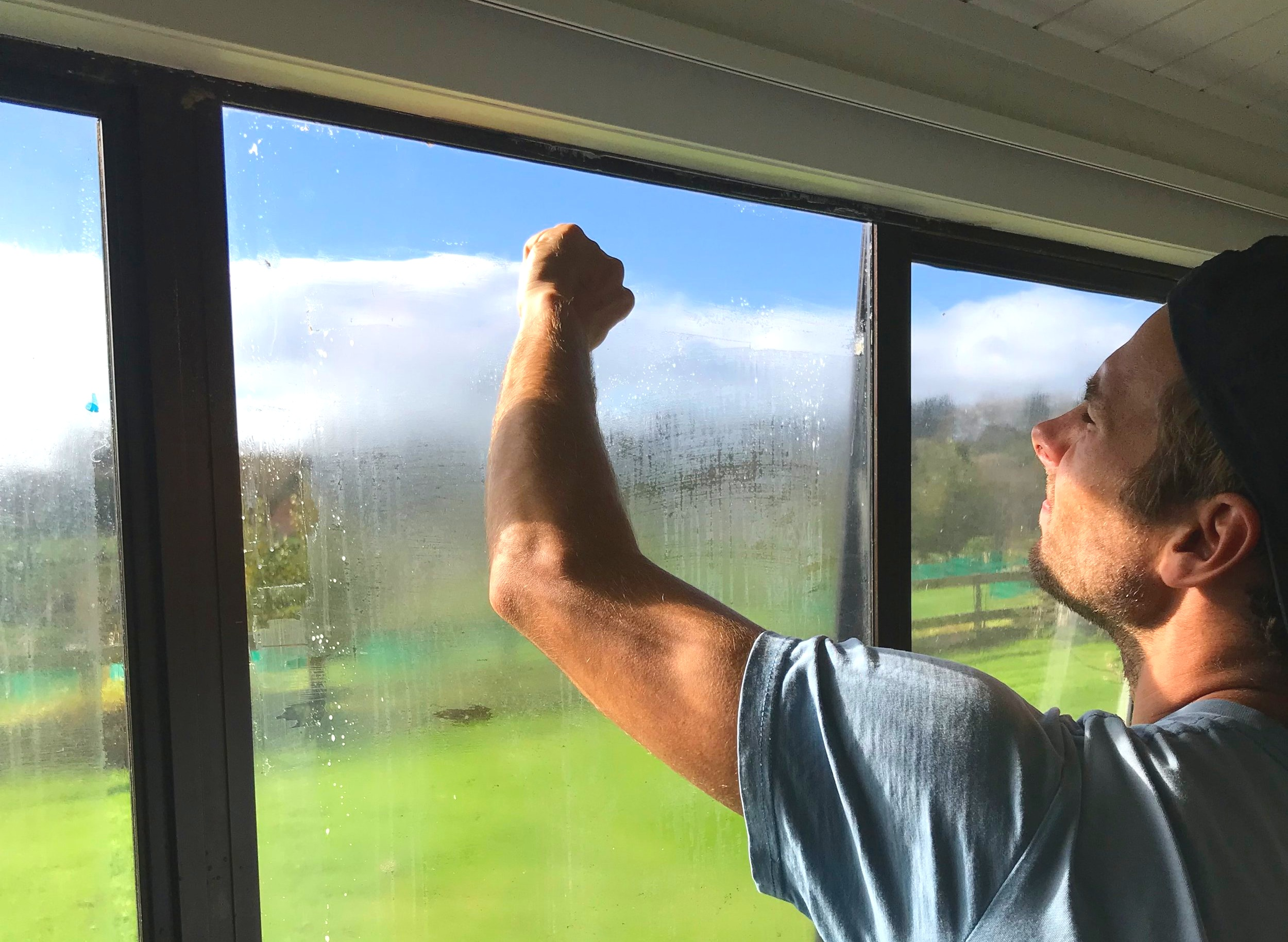 TINT REMOVAL - From time to time we come across older windows that have considerably deteriorated tint. Often this will look extremely cloudy and scratched and feels tacky to touch, it will look particularly bad in sunlit areas of your house.The only successful option at this stage is the complete removal of the damaged tint that will leave your windows looking brand new. Over the past few years we have developed the most efficient tools, products and techniques to remove tint fully from windows.