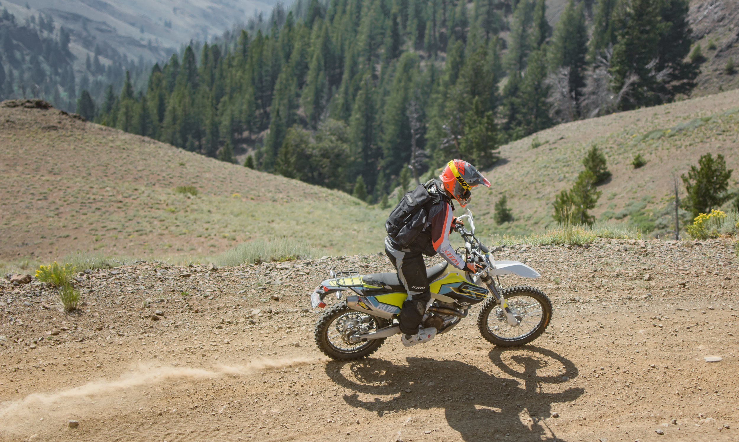 Photo by  Jesse Felker . Pictured:  Simon Cudby  on the KLiM 501.
