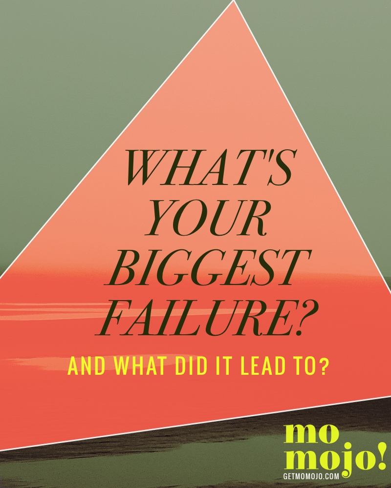 What's your biggest failure? And what did it lead to? Read how I and others answered this question to help you shift your perspective around failure into one of growth.
