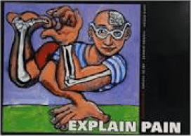 Explain pain cartoon