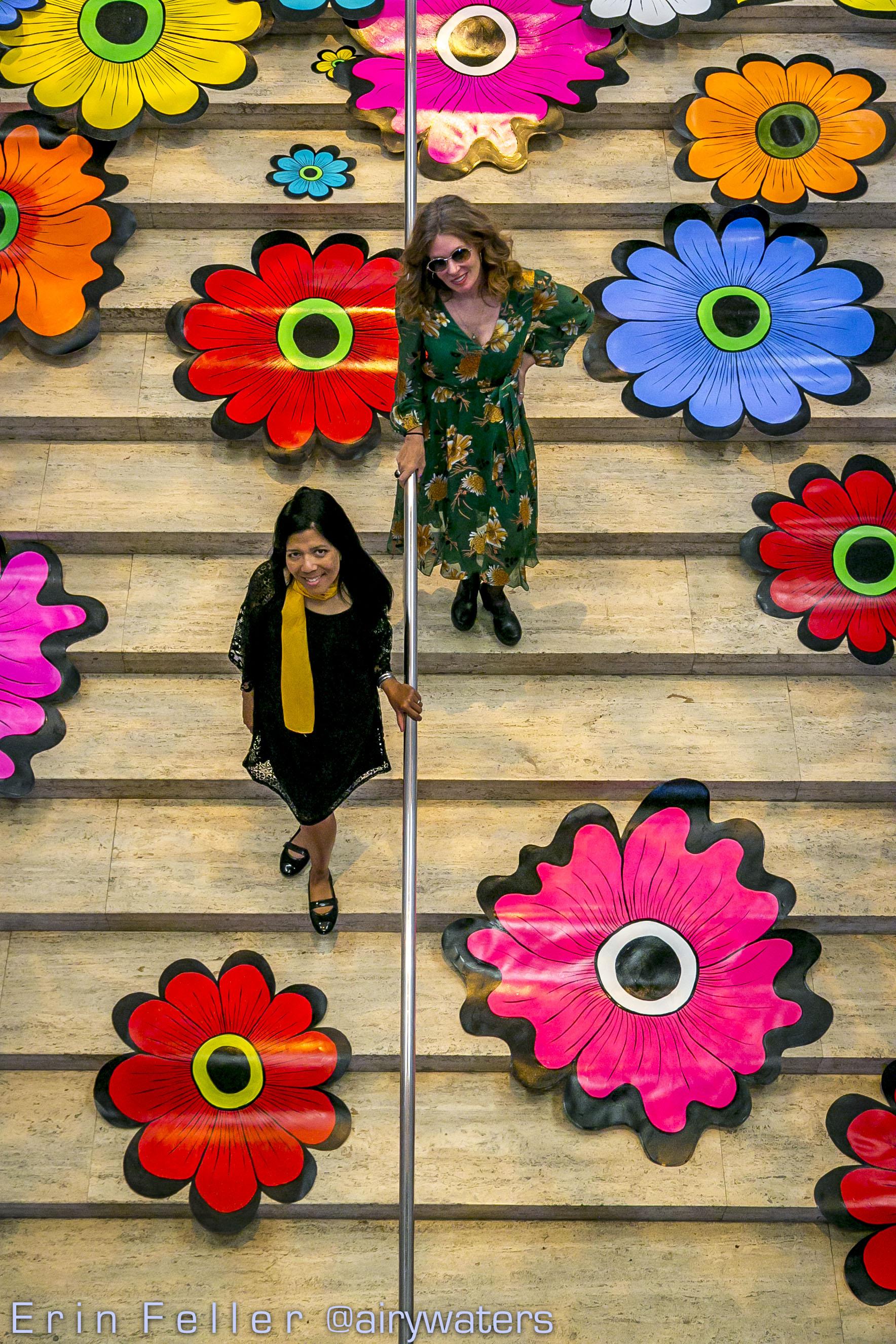 Flower Interruptions at the Asian Art Museum with artist Megan Wilson, 2018.  (http://www.asianart.org/regular/flower-interruption)