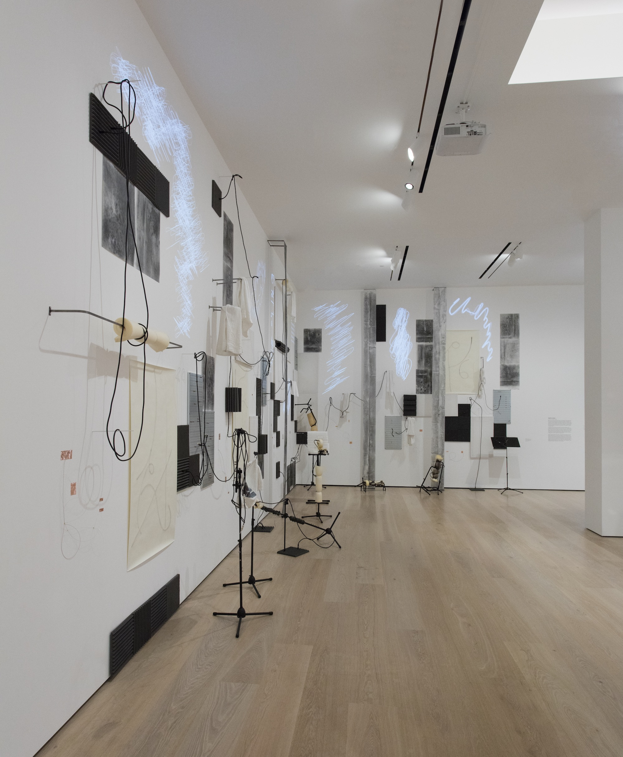 Nikita Gale, installation view, Made in L.A. 2018 , June 3 - September 2, 2018, Hammer Museum, Los Angeles. Photo: Brian Forrest