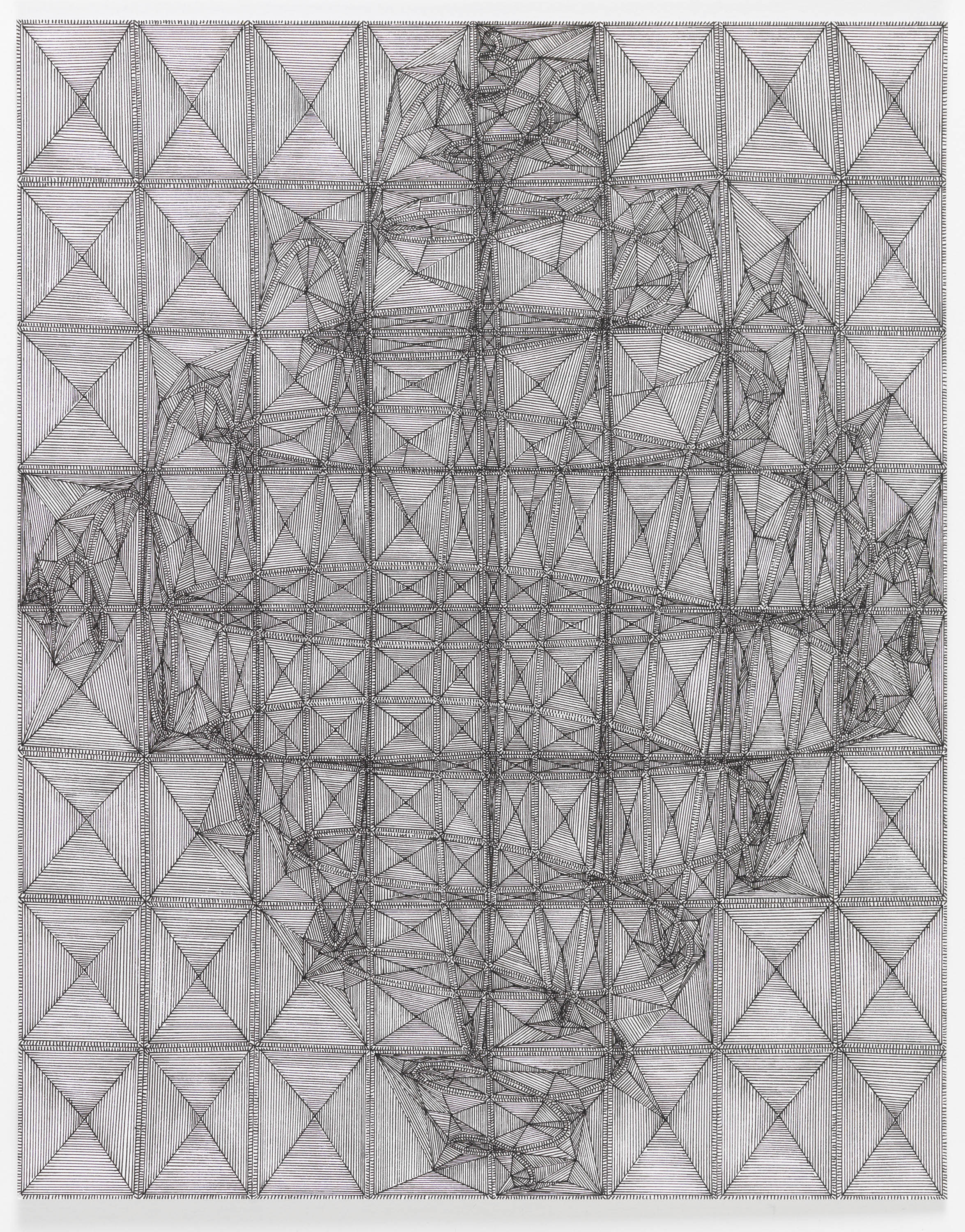 """Book 5 Volume 1 Page 11.2, 2018  in """"Richard Tinkler: Drawings at 56 Henry."""