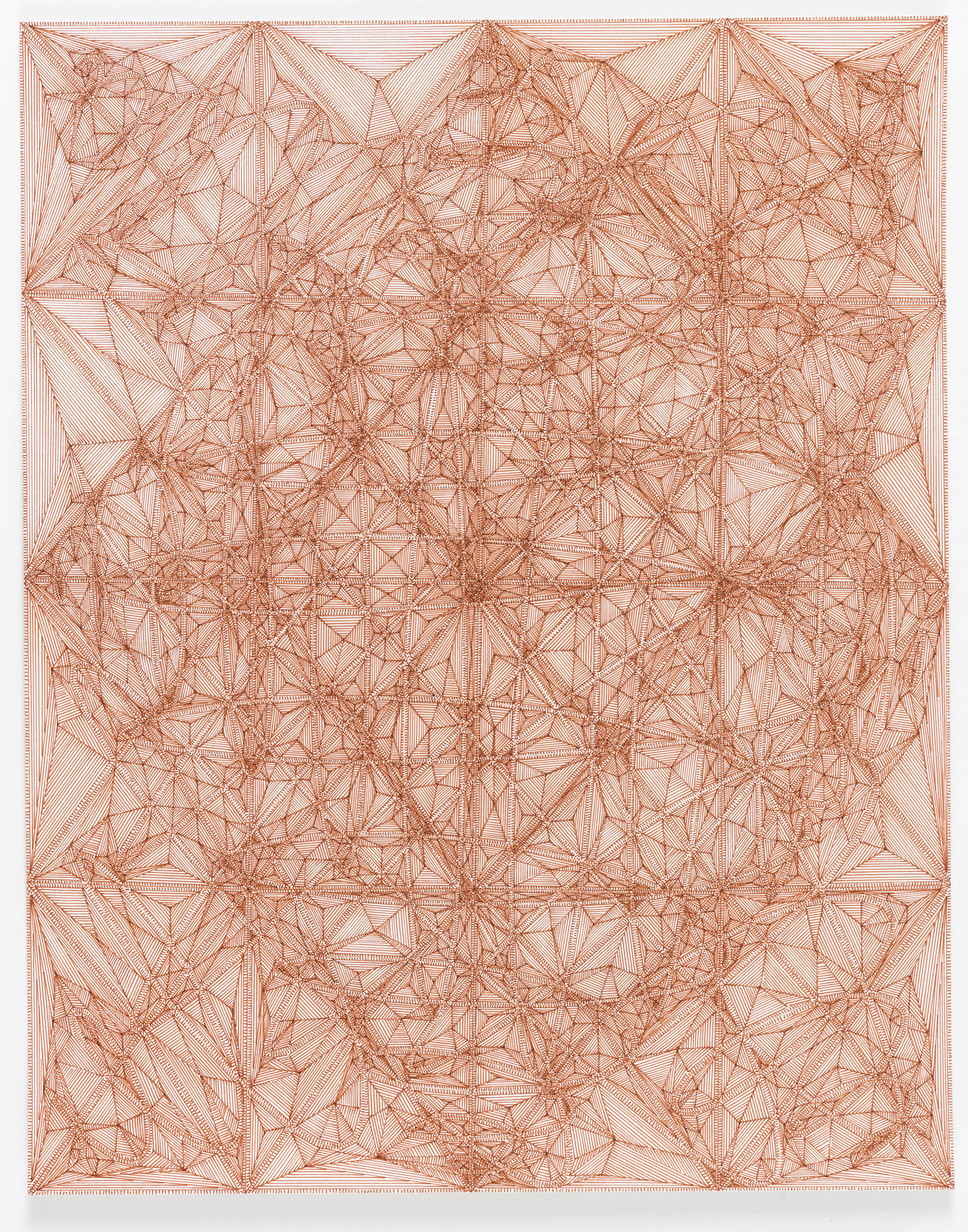 """Book 5 Volume 1 Page 37.2, 2017  in """"Richard Tinkler: Drawings"""" at 56 Henry."""