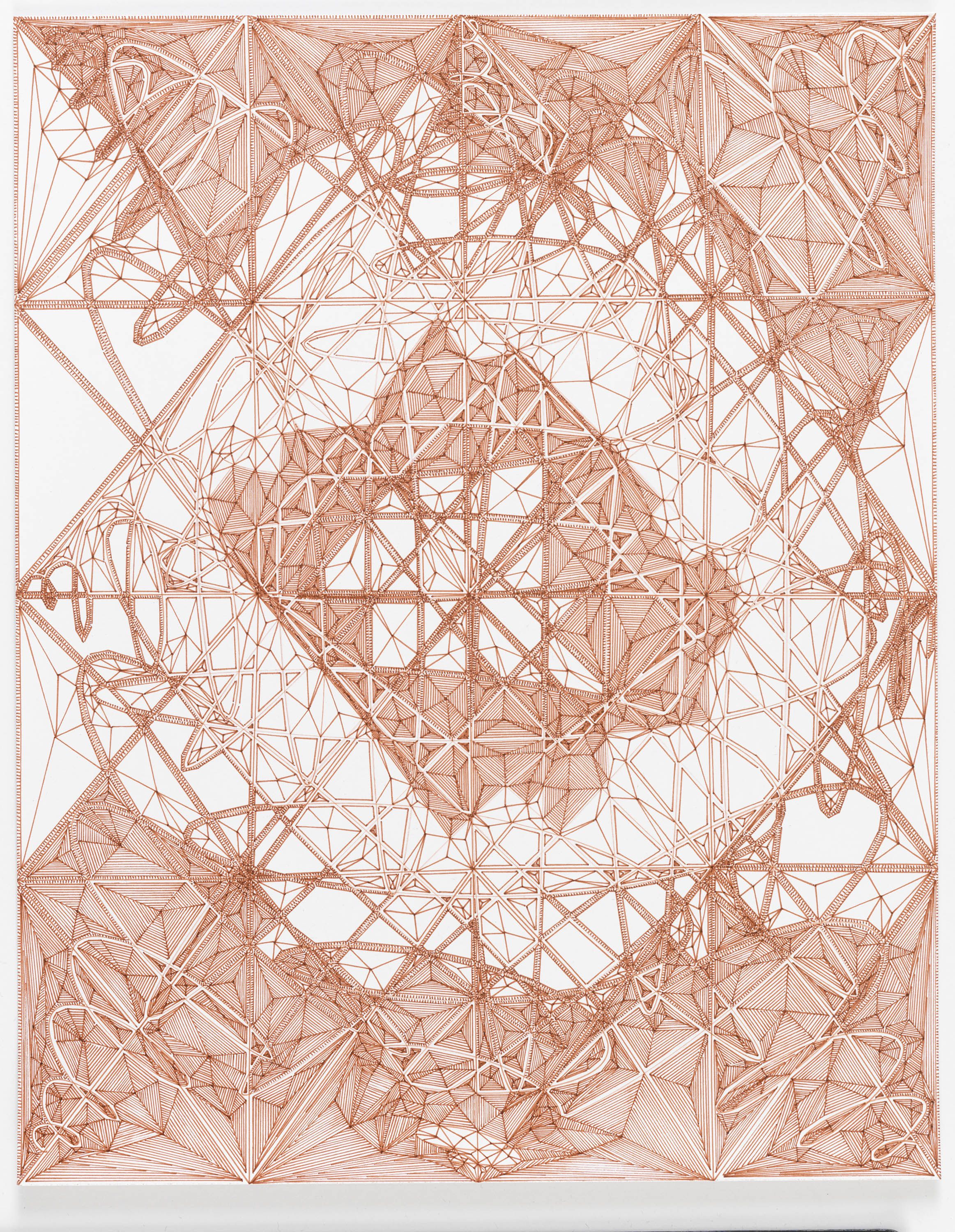 """Book 5 Volume 1 Page 38  in """"Richard Tinkler: Drawings"""" at 56 Henry."""