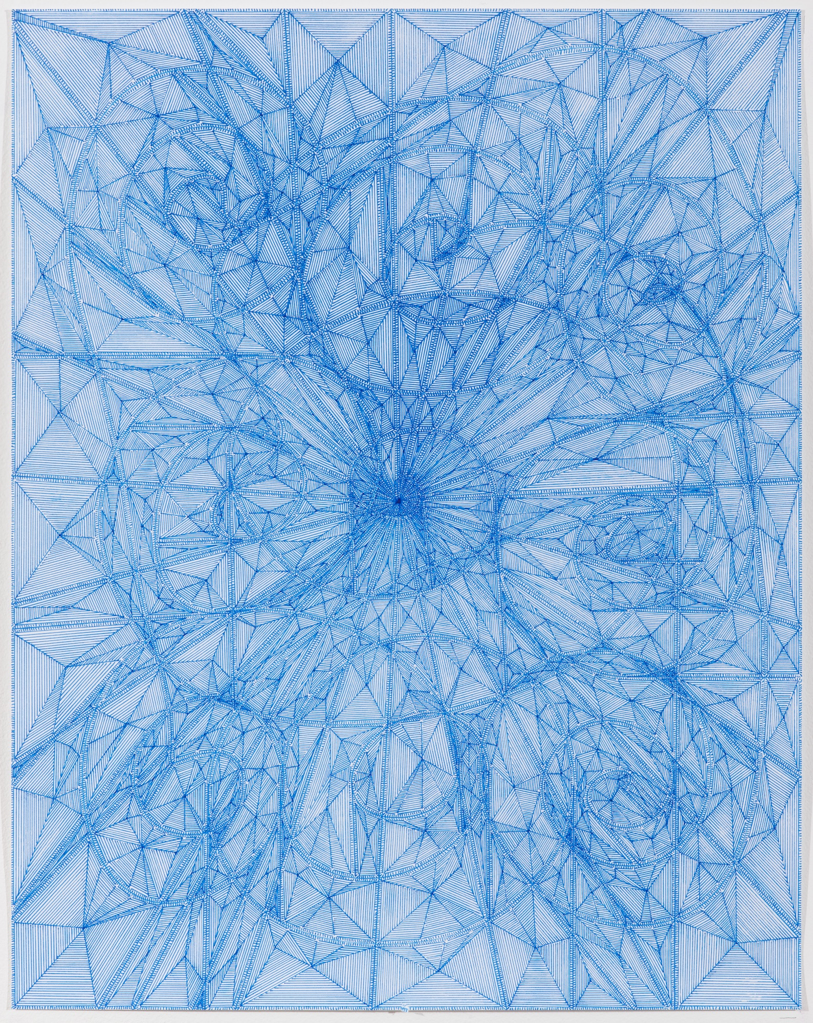 """Book 6 Volume 1 Page 2, 2018  in """"Richard Tinkler: Drawings"""" at 56 Henry."""