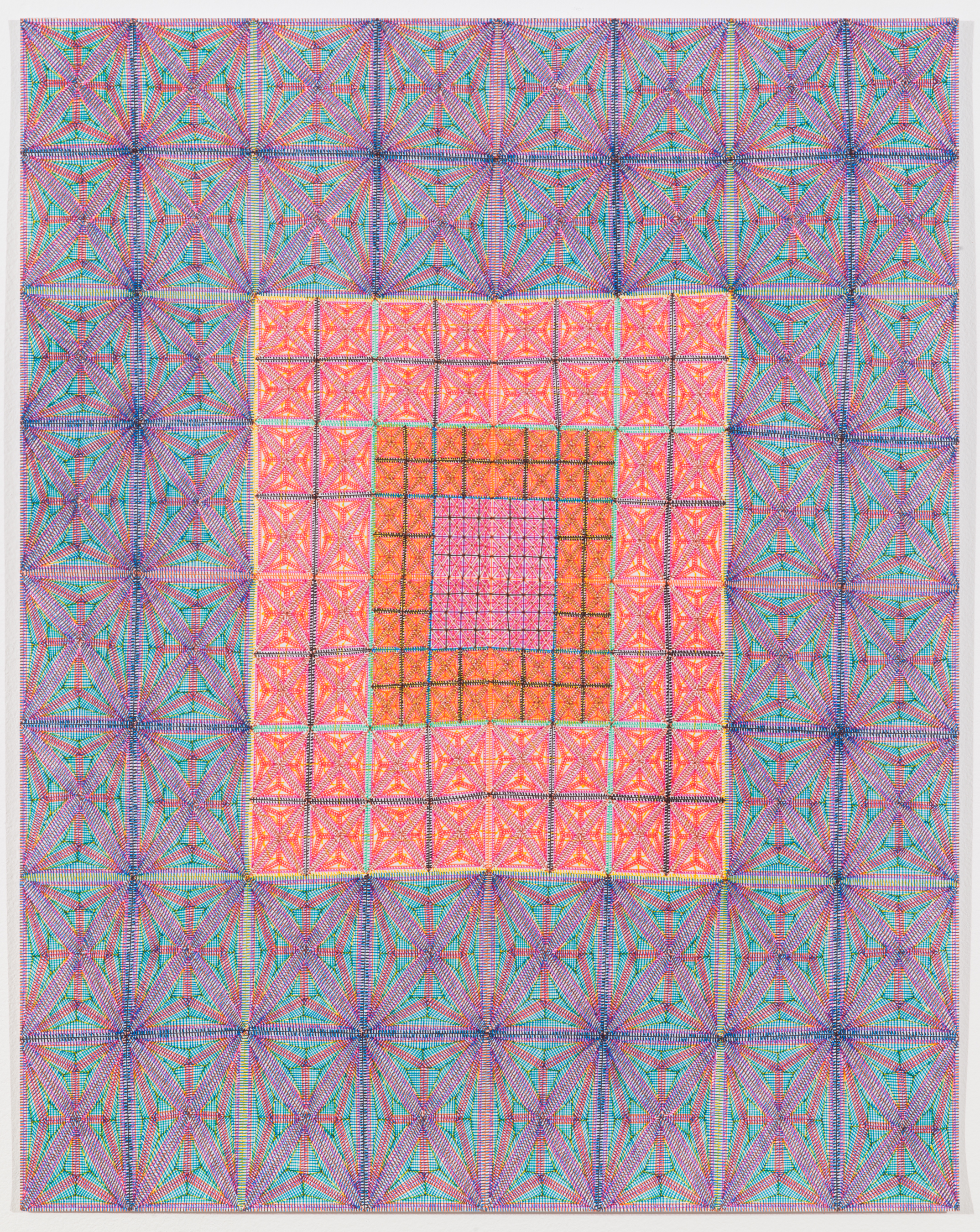 """Book 5 Volume 1 Page 32.2, 2018 in """"Richard Tinkler: Drawings"""" at 56 Henry."""