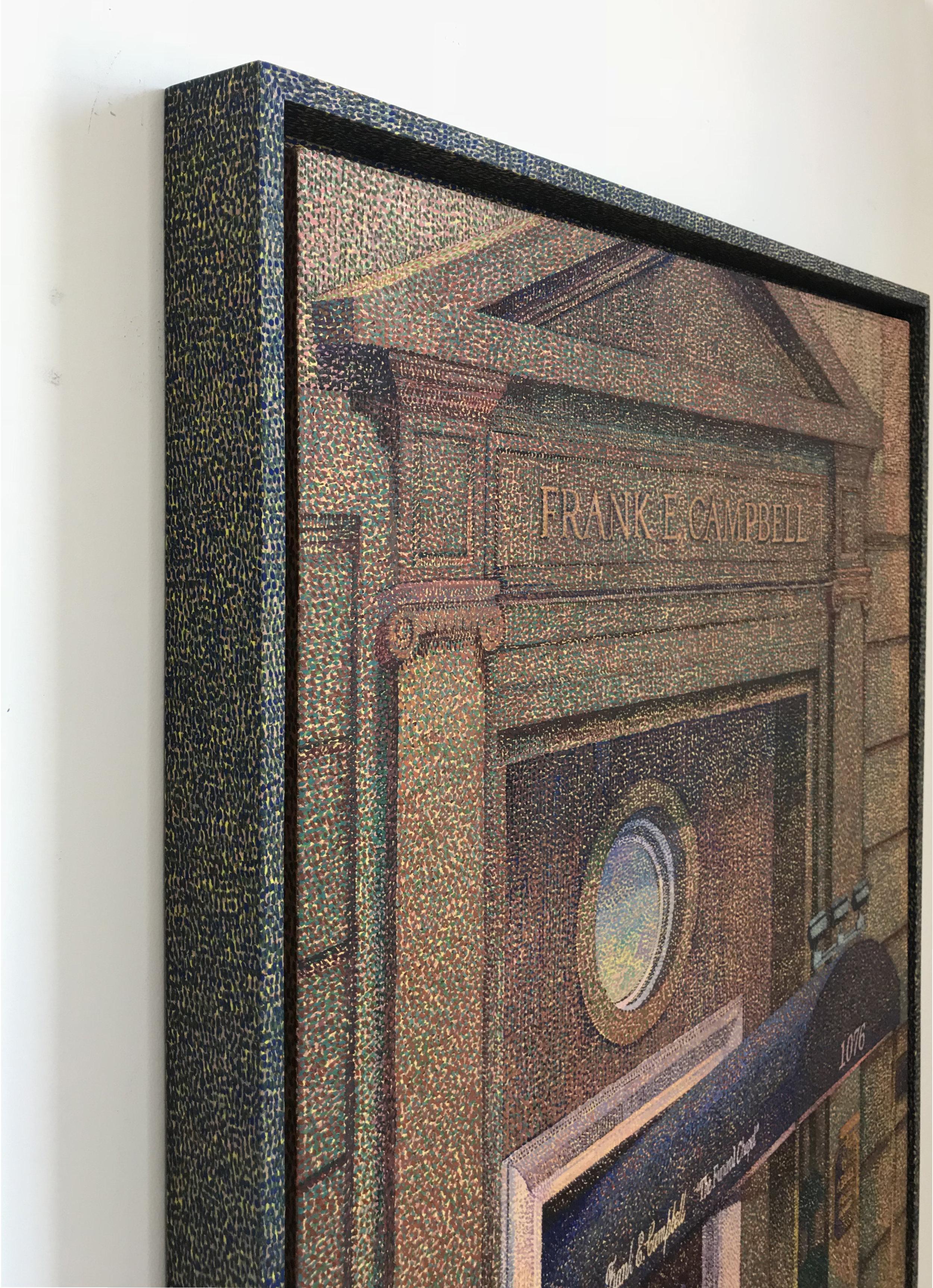 Detail of  Frank E. Campbell (Golden Hour)