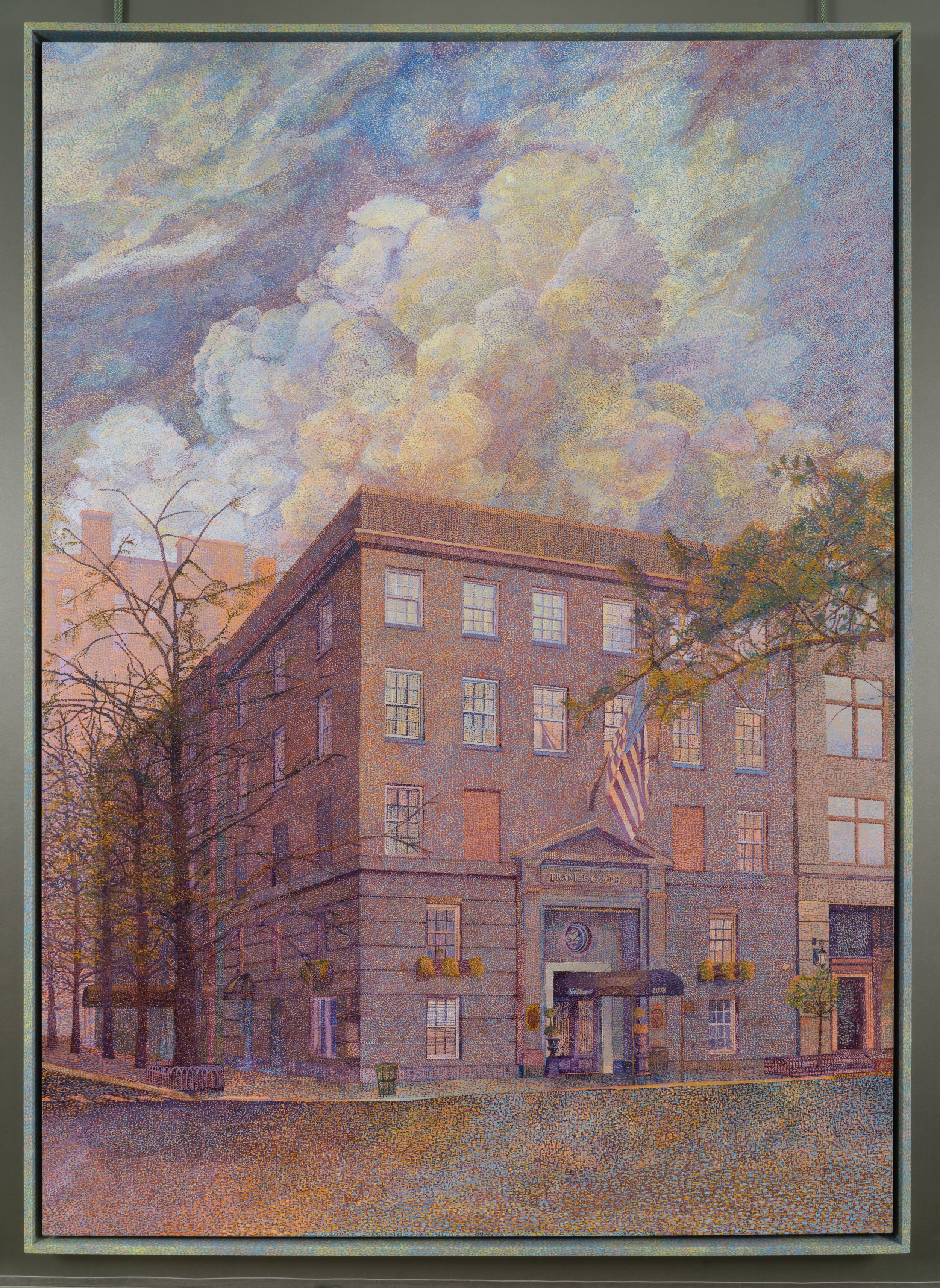 "Frank E. Campell (Dusk) in ""1076 Madison""  at 56 Henry"